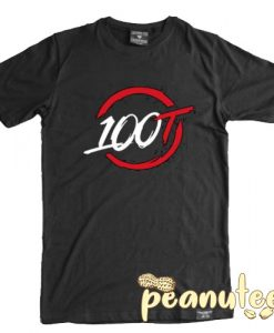 100 Thieves Logo T Shirt