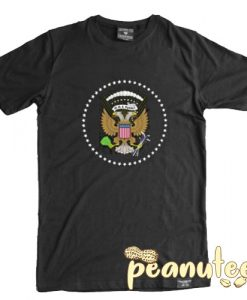 45 is a Puppet Fake Presidential Seal T Shirt