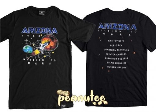 Arizona Space Mission To Mars T Shirt