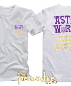 Astroworld Astro World Wish You T Shirt