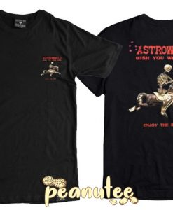 Astroworld Wish You Were Here Skeleton T Shirt