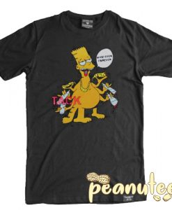 Bart Simpson Whatever Forever T Shirt