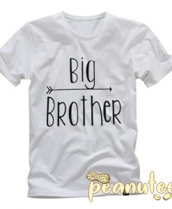 Big Brother Letter T Shirt