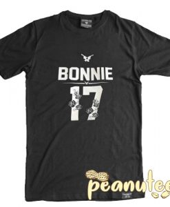 Bonnie Clyde Flower Number T Shirt