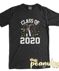 Class of 2020 With Dabbing Graduation T Shirt