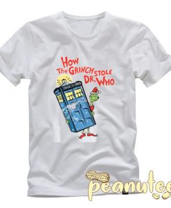 How the Grinch Stole Dr Who T Shirt
