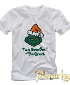 I'm A Mean One The Grinch Album T Shirt