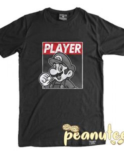 Mario Bros Player T Shirt