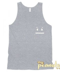 Angry Smiley Tank Top