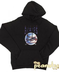 Atlana Braves Baseball Black color Hoodies