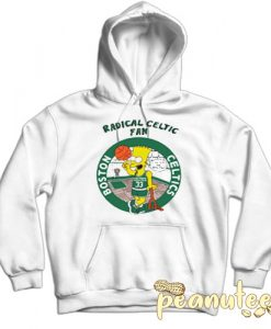 Bart Simpsons Radical Celtics Hoodie
