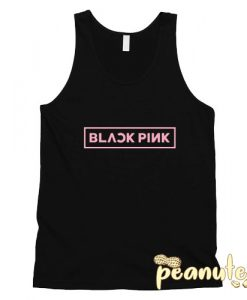 BlackPink Logo pink Tank Top Men And Women