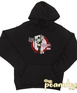 Bombshell Black Magic Black color Hoodies