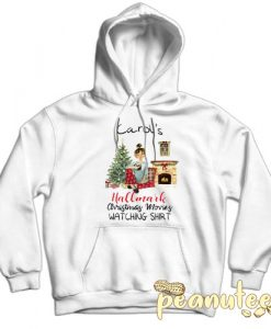 Carol's This is My Hallmark Christmas White color Hoodies