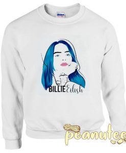 Billie Eilish face Sweatshirt