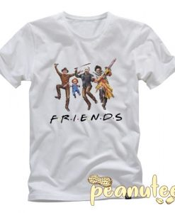 Horror Halloween Friends T Shirt