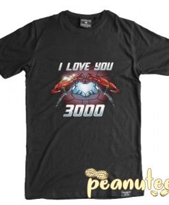 Iron Man I Love You 3000 T Shirt