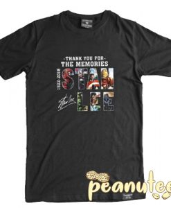 Memories Stan Lee T Shirt