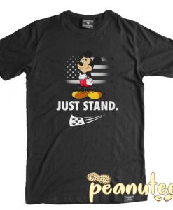 Mickey Disney American Flag Just Stand T Shirt