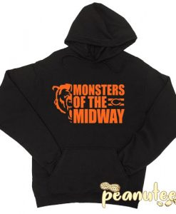 Monsters Of The Midway Chicago Hoodie pullover