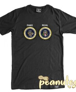 Real and Fake Presidential Seal T Shirt