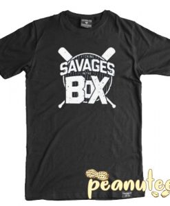 Savages In The Box New York Yankees T Shirt