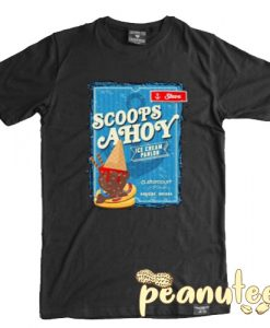 Scoops Ahoy Stranger Things T Shirt