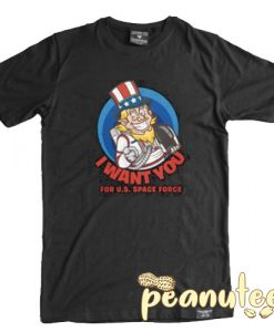Space Force I Want You T Shirt