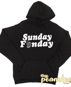 Sunday Funday Beer Hoodie pullover