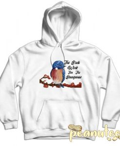The Birds Work For The Bourgeoisie Bird Hoodie pullover