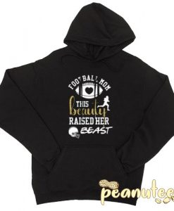 This Beauty Football Mom Black color Hoodies