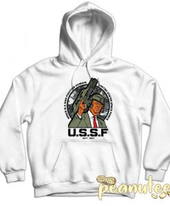 US Space Force White color Hoodies