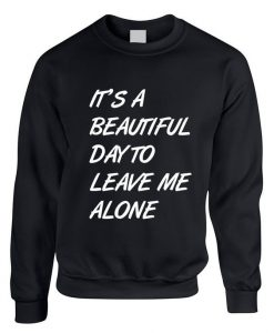Adult Crewneck It's A Beautiful SweatShirt AY