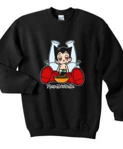 Astro boy blazed sweatshirt AY