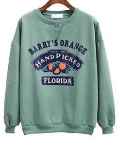 Barry's Orange Florida Crewneck Sweatshirt AY
