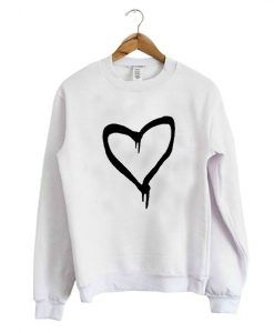 Black Heart Sweatshirt ay