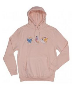 Bunnerfly Lines Bunny Butterfly Hoodie AY