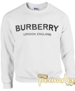Burberry logo White Sweatshirt