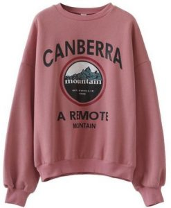 Canberra mountain Sweatshirt