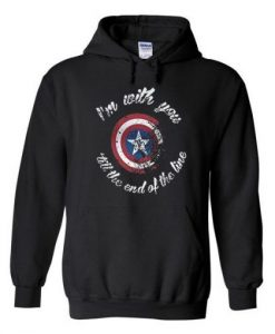 Captain America Quote Hoodie AY