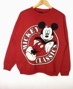 Cartoon Walt Disney Sweatshirt AY