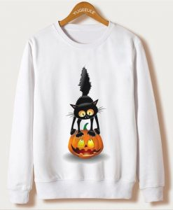 Cat Smile Sweatshirt AY