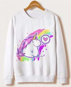 Cute unicorn sweatshirt AY