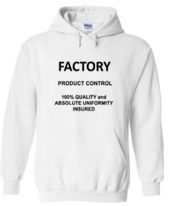 Factory product control hoodie AY