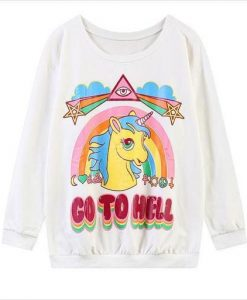 Go To Hell Sweater AY