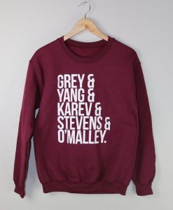 Grey's Anatomy Sweatshirt ay
