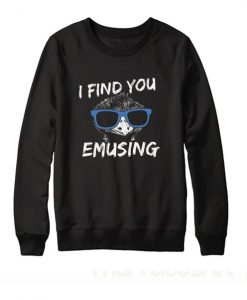 I Find You Emusing Sweatshirt ay