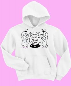 I really don't care Sweatshirt and Hoodie AY