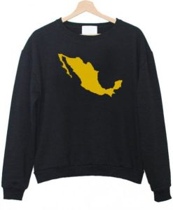 Mexico Map Sweatshirt ay