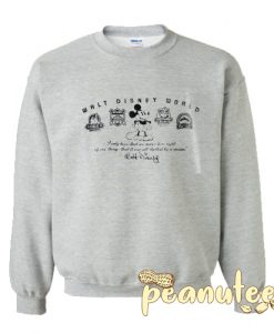 Mickey Mouse Four Parks Sweatshirt